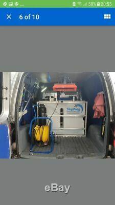 Volkswagen Caddy 2006 Window Cleaning Van Water Fed Pole