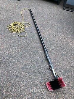 Water Fed Pole Brodex Aluminium 35 Ft + Sill Brush + pole Hose