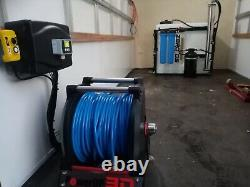Water Fed Pole Window Cleaning System 500lt Full Ro/di One Operator