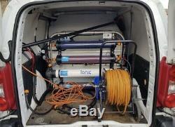 Water Fed Pole Window Cleaning Van