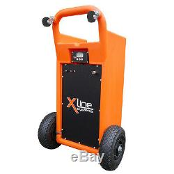 Water Fed Window Cleaning Equipment, 45L Trolley, Pole, Brush, Filter, Hose, TDS