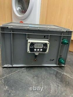 Water Genie Box, Sureflo Pump 100psi, Digital Flow Controller, New battery 12v