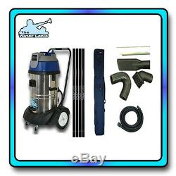 Water Genie Guttervac all sizes and accessories gutter cleaning gutter vacuum