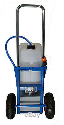 Water Genie Window Cleaning Trolley with 300GPD RO & 24ft Pole Waterfed pole
