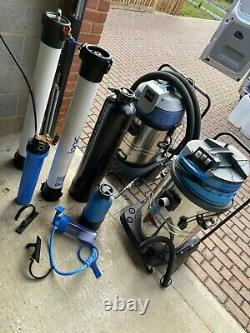Water fed Pole, window cleaning equipment, Gutter Vacuum