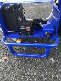 Water fed pole window cleaning trolley And