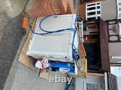 Water fed window cleaning system