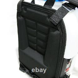 Window Cleaning Backpack 16L Water Fed Pole tank Aquaspray Portable 12v Battery