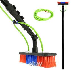 Window Cleaning Pole 30ft Telescopic Extendable Water Fed Glass Brush Extension