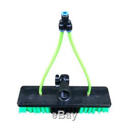 Window Cleaning Pole Lightweight 20ft Telescopic Water Fed Brush cleaner Home