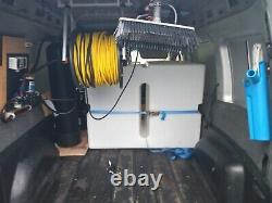 Window Cleaning System equipment water fed pole tank pump reel controller ££