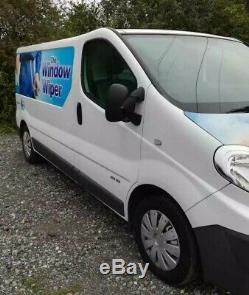 Window Cleaning Van With Professionally Fitted, Pure Water Fed, Pole System