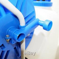 Window Cleaning Water Tank Aquaspray Pro 45L 50m Hose Reel 12v Battery Powered