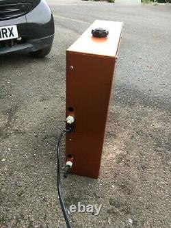 Window cleaning diesel water heater
