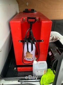 Window cleaning water fed pole van 2012 Citroen berlingo 1.6 hdi