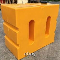 Wydale 800 Litre Upright Water Tank Yellow