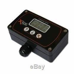 Xline Digital Pump/Flow Controller Water Fed Pump Controller in Black Housing