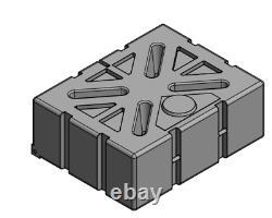 1000l Litre Plastique Plastique Stockage Réservoir De Réservoir De Citerne