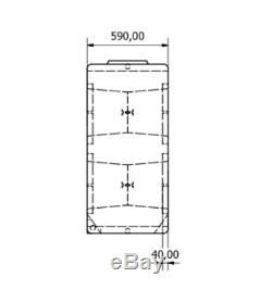 1000l Litres Vertical Plastique Réservoir D'eau -valeting Nettoyage De Vitres Camping