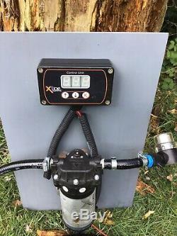 200 Litres Réservoir D'eau De Nettoyage De Vitres, Pompe Et Flowmeter