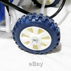 25ft Nettoyage De Vitres Télescopique Eau Fed Pole Raclette & 20l Réservoir De Pulvérisation Chariot
