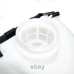 25ft Télescopique Eau Fed Pole Squeegee & 16l Sac À Dos Spray Window Cleaning