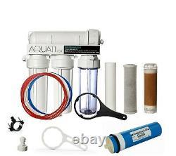 300gpd 4 Étape Osmose Inverse Et DI Filtre Système D'eau Nettoyage De Fenêtre Aquati
