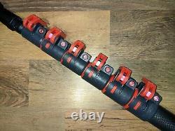 30ft Lifting Fantôme 3k Fibre De Carbone Eau Fed Pole Gardiner Inégalée Excellent