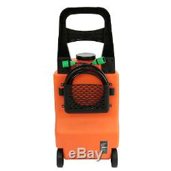 30l D'eau Fed Système Chariot De Nettoyage De Vitres De Voitures Lavage Équipement De Nettoyage Brosse