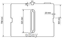 350l Litres Vertical Plastique Stockage De L'eau De Nettoyage De Vitres Réservoir Camping Valeting