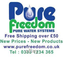 400 Litres Réservoir D'eau Pour L'eau Fed Pole / Car Valeting Plat Ou Vertical