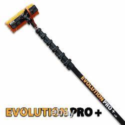 45 Foot Xline High Modulus Carbon Fibre Water Fed Pole + Free Evo-lite Wpf Brosse