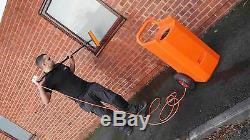45 Litres Nettoyage De Vitres Chariot + 20ft Eau Fed Pole + 10 Brosse Légère