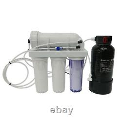 500 Gpd 5-stage Reverse Osmosis Water Filtration System (avec 4ltr D/i Vessel)