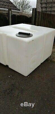 500 Litres D'eau De Réservoir De Stockage D'eau À Chicanes Nettoyage Fenêtre Pôle Alimenté Valeting