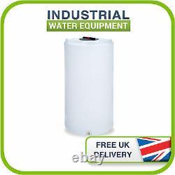 625l Litre D'eau Ronde En Plastique Valeting Window Cleaning Camping Storage Tank