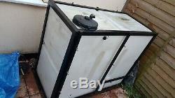 650 Litres De Nettoyage De Fenêtre De Wfp De Trame Du Réservoir D'eau Wydale