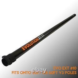 6ft Fibre De Carbone Water Fed Pole Extension Ext 11 V3 Fits Xline 60ft Pole