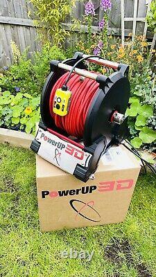 Alimenter Le Tuyau Électrique 3d Rouleau Pam Nettoyage De La Fenêtre Du Poteau Alimenté À L'eau