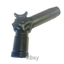 Aquaspray 25ft Télescopique Eau Fed Pole Léger Nettoyage De Vitres De Pulvérisation D'eau