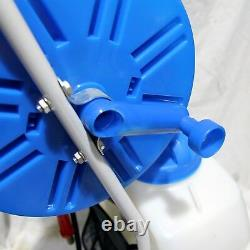 Aquaspray Pro 20l Fenêtre De Nettoyage Réservoir De Pulvérisation D'eau 50m Tuyau Batterie De Bobine Puissance