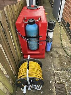 Brodex 250ltr Water Fed Pole Nettoyage De Fenêtre De Réservoir