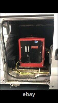 Brodex E650 Système De Nettoyage Des Fenêtres Des Poteaux Alimentés En Eau
