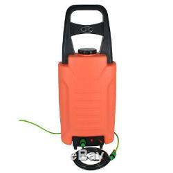 Chariot 30l D'eau Fed Système De Nettoyage De Vitres Brosse Panneau Solaire Lavage Outil Voiture