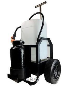 Chariot DI De Nettoyage De Vitres Wash2o Compact 25l Pour Utilisation Avec Des Poteaux Alimentés En Eau