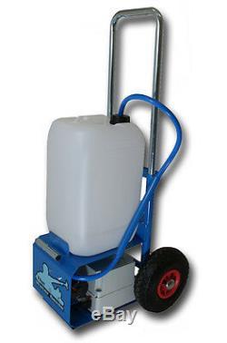 Chariot De Nettoyage De Vitres Avec Poteau D'alimentation En Eau 300gpd Ro & 17ft Pole Wfp