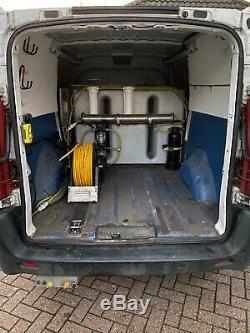 Citroën Jumpy Lwb Nettoyage Des Vitres Et L'eau Van Fed Pole Système Chauffant