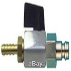 Claber Reel Métal Avec 100 M De Tuyau De Microbore & Aquastop P & P