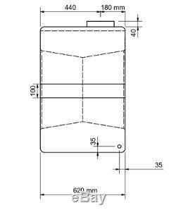 Cuve De Stockage D'eau En Plastique Verticale De 500 Litres Permettant Le Nettoyage Des Vitres Du Camping