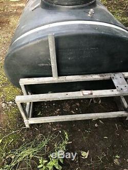 Eau Bowser Citerne Ouest Remorque Diesel Nettoyage Réservoir Fenêtre
